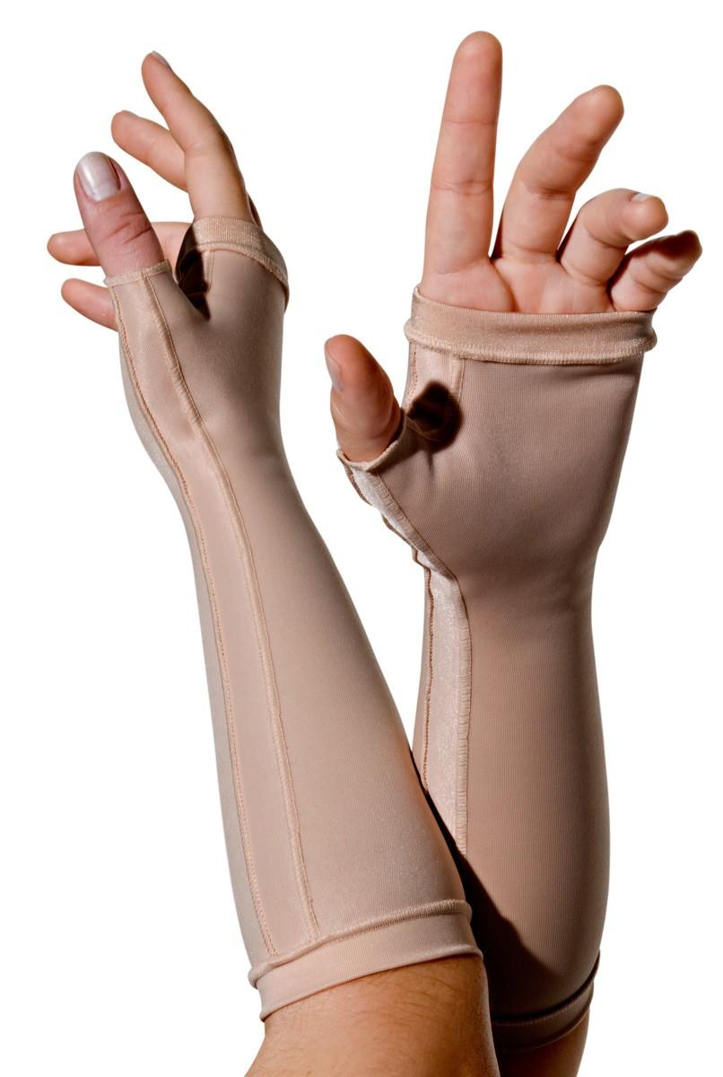 Luva sem dedos, longa UNISSEX - NUDE