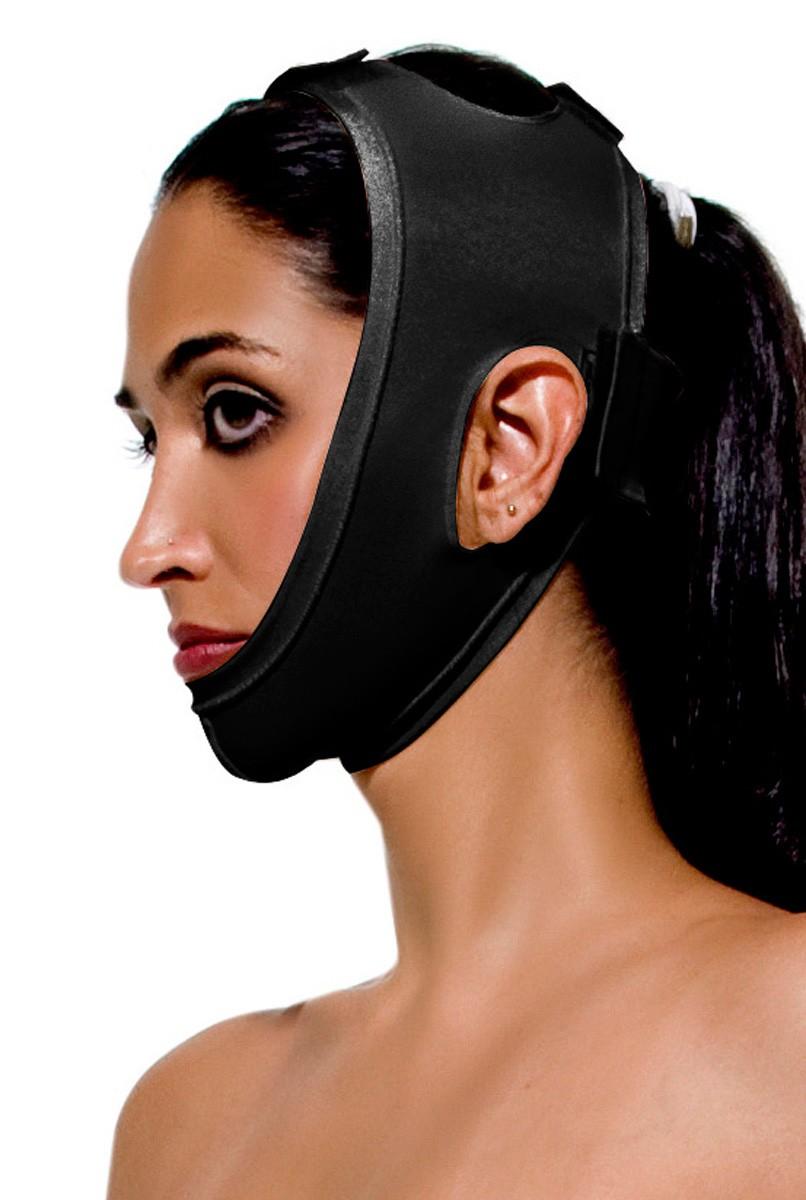Máscara mentoniana, UNISSEX (Queixeira) - PRETA