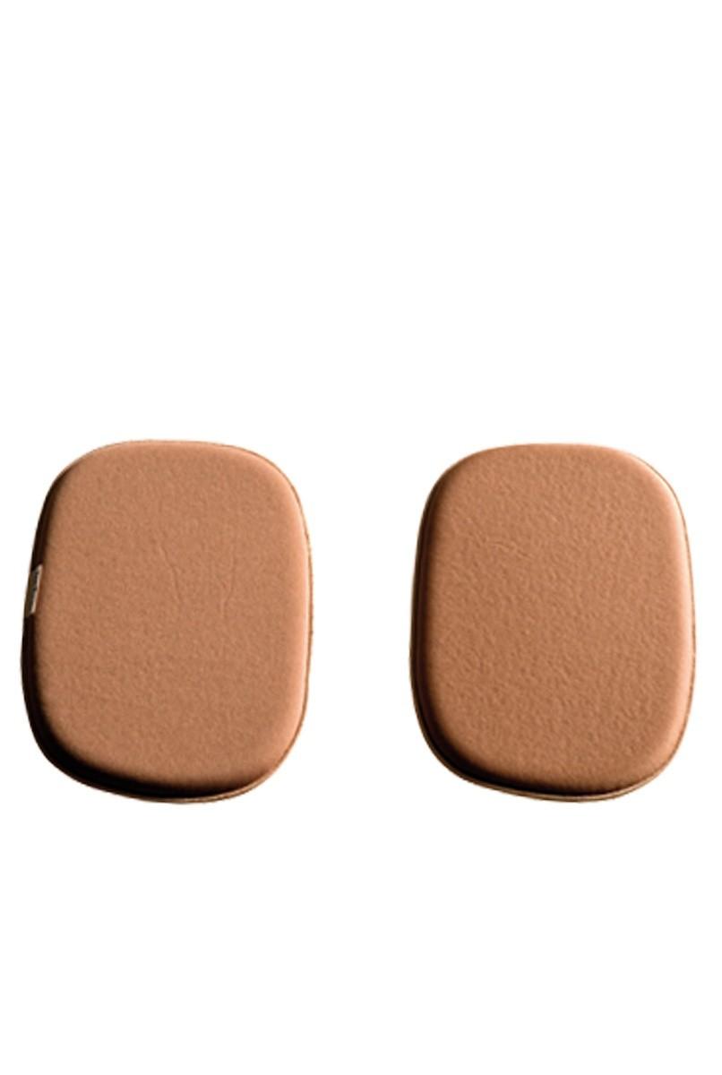 Protetor lateral, em espuma, UNISSEX - CHOCOLATE