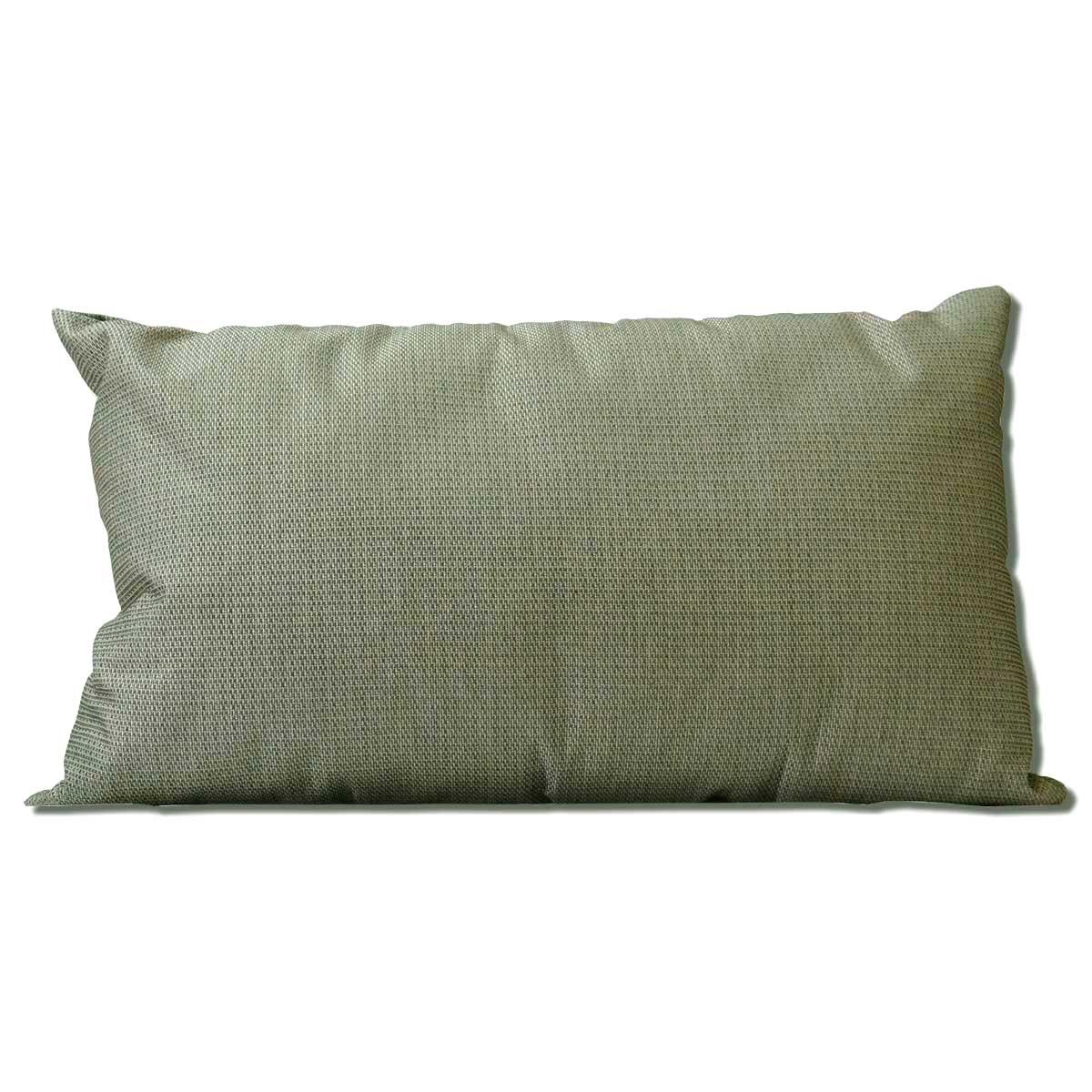 Almofada Baguete Mescla Cinza 50 x 30 cm