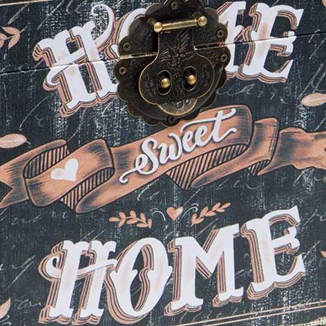 Baú Home Sweet Home Médio