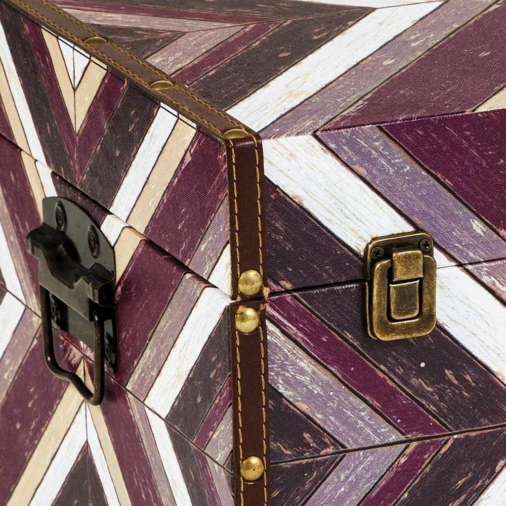 Baú Mosaico Geométrico Grande