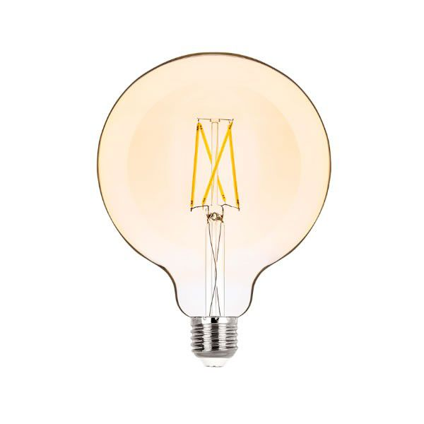 Lâmpada LED Filamento G125 E27 2W Bivolt 2.400K