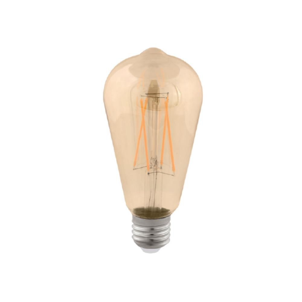 Lâmpada LED Filamento ST64 E27 2W Bivolt 2.400K