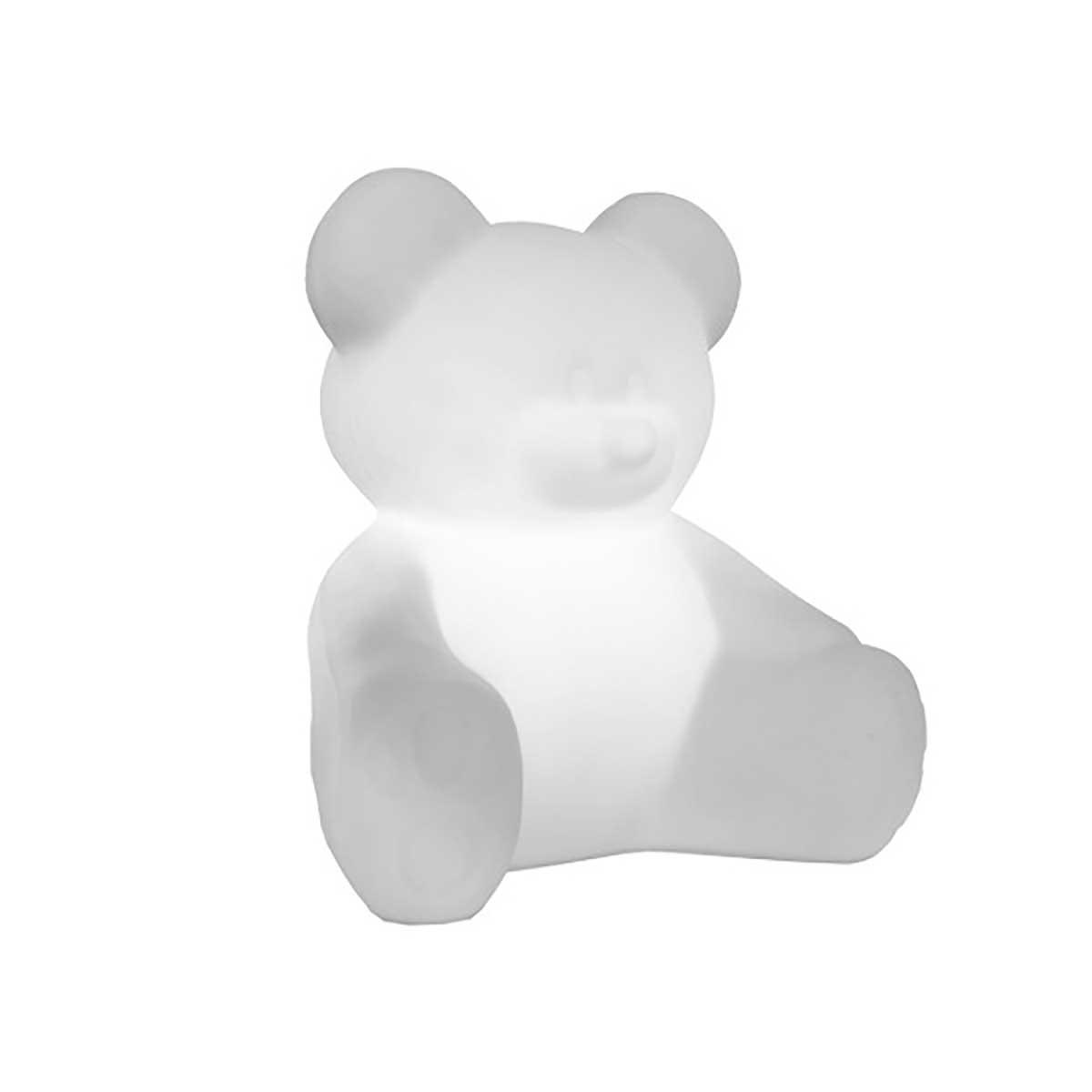Luminária de Mesa Ursinho Branco