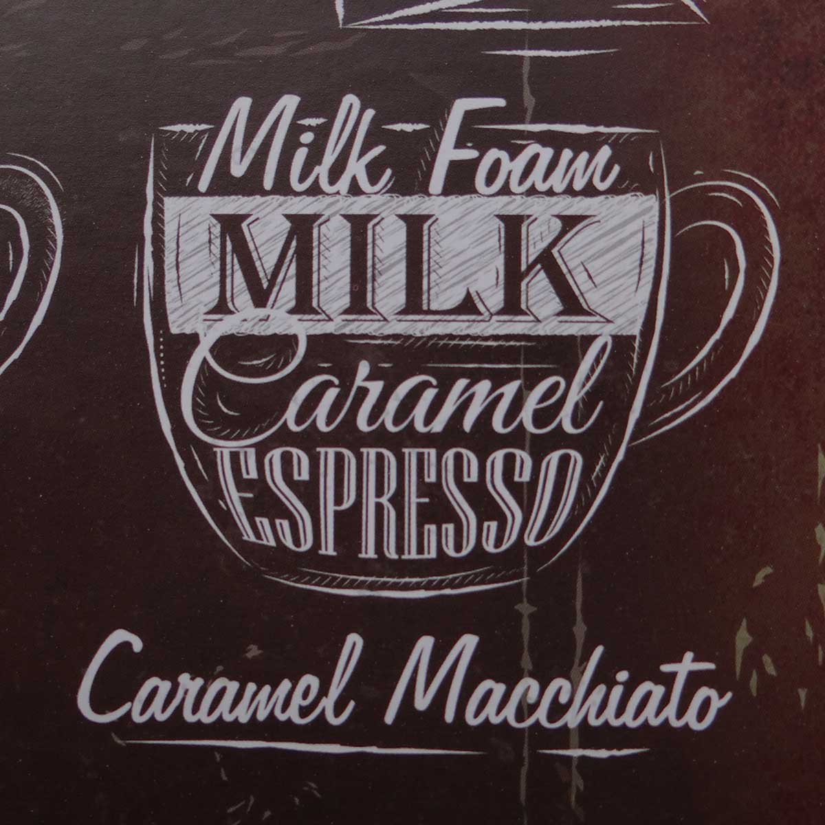 Placa Decorativa Metal Coffe Menu 30 x 40 cm