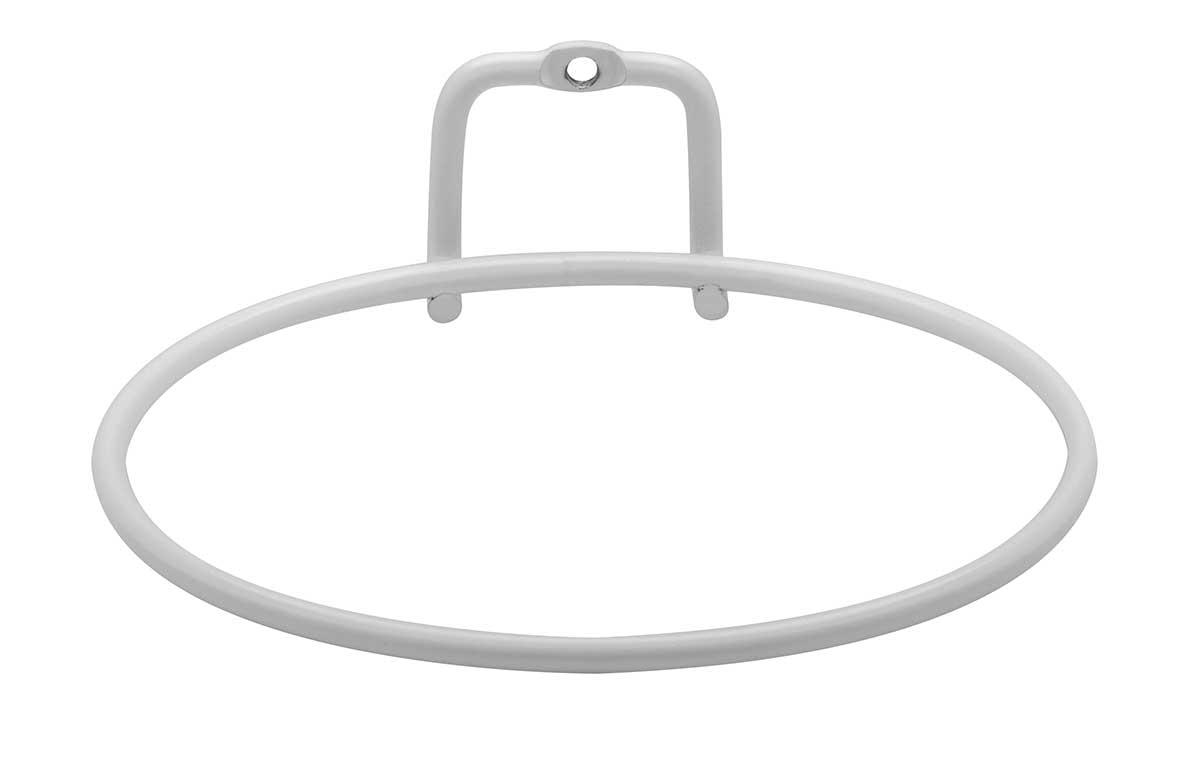 Suporte para vaso Auto Irrigável Branco Fosco Pequeno