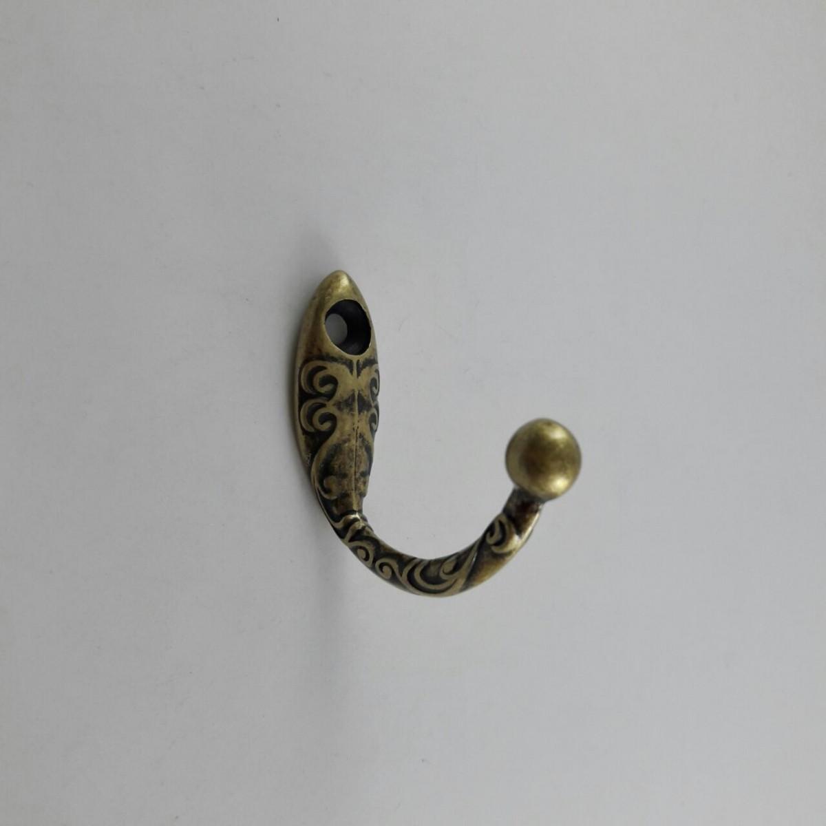 Cabide Médio Arabesco Ouro Velho MA0141