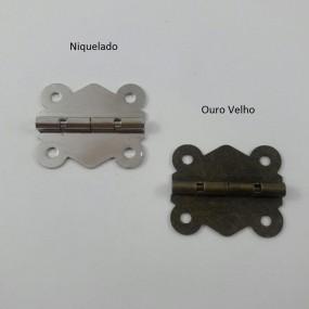 Dobradiça Articulada Ondulada c/ Limitador MA0059