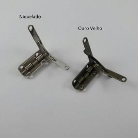 Dobradiça Articulada Requinte c/ Limitador MA0061