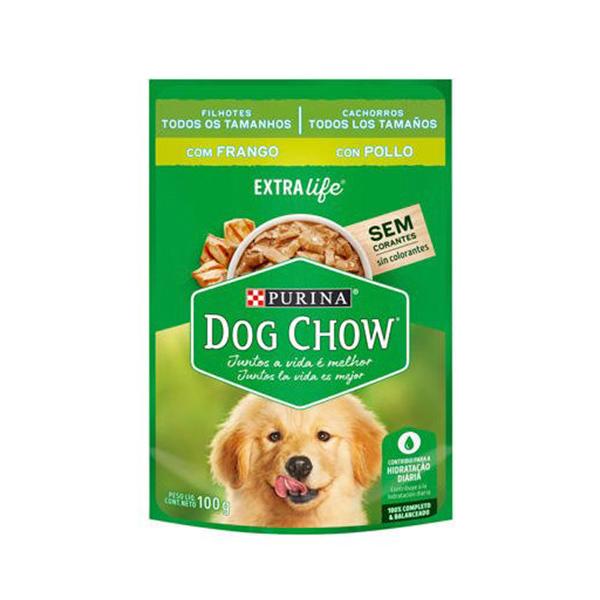 Alimento Úmido Dog Chow Cães Filhotes Todos os Tamanhos 100g