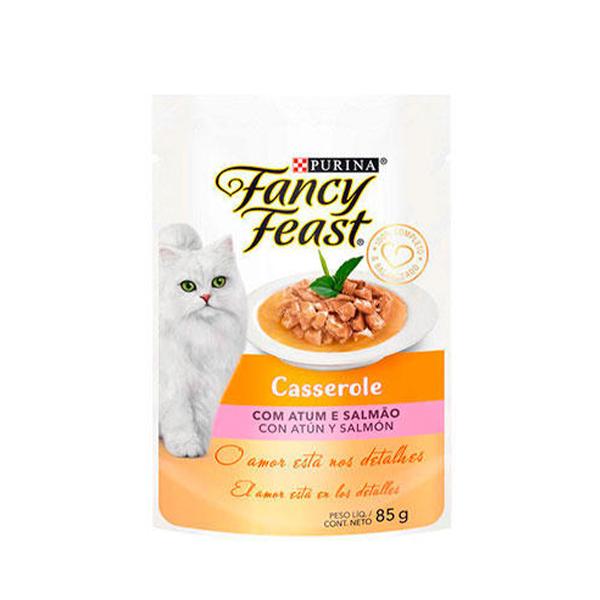Alimento Úmido Fancy Feast Purina para Gatos Adultos 85g