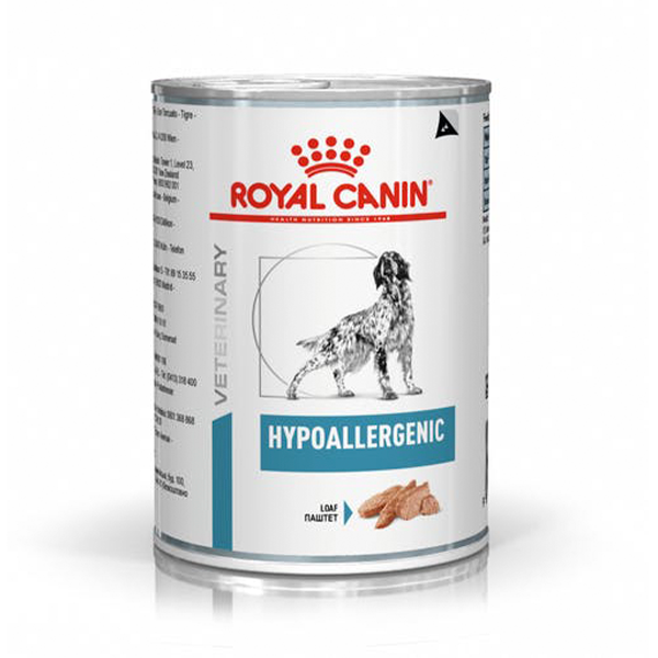 Alimento Úmido Hypoallergenic Canine Royal Canin 400g