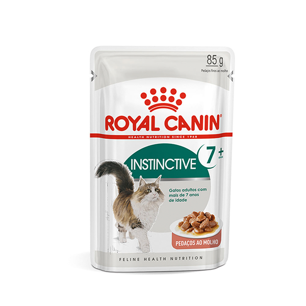 Alimento Úmido Instinctive 7+ Royal Canin 85g