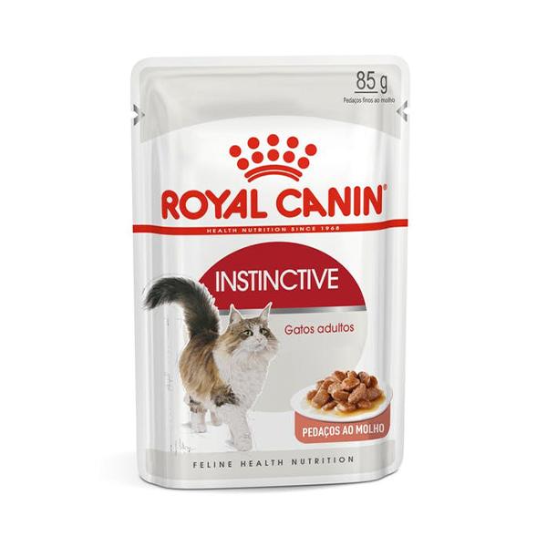 Alimento Úmido Instinctive Royal Canin 85g