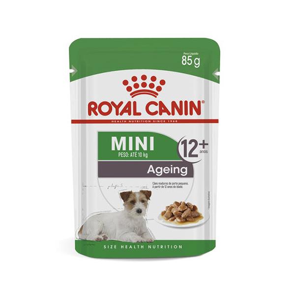 Alimento Úmido Mini Ageing +12 Royal Canin 85g