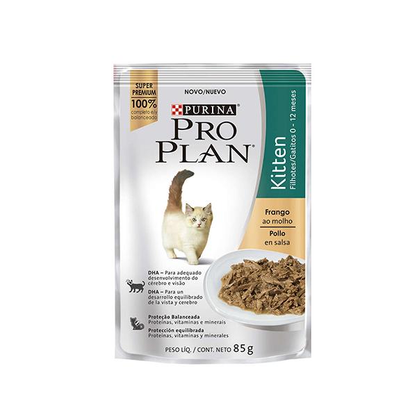 Alimento Úmido Pro Plan Kitten Sabor Frango