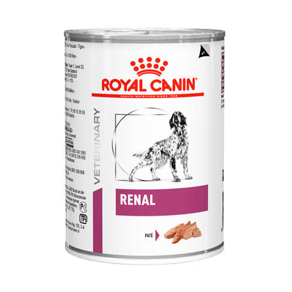 Alimento Úmido Renal Wet Royal Canin 410 g