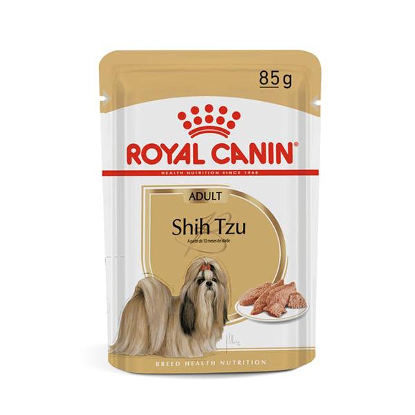 Alimento úmido Shih Tzu royal Canin 85g