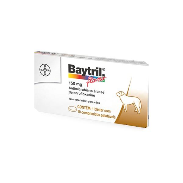 Baytril 150mg 10 comprimidos