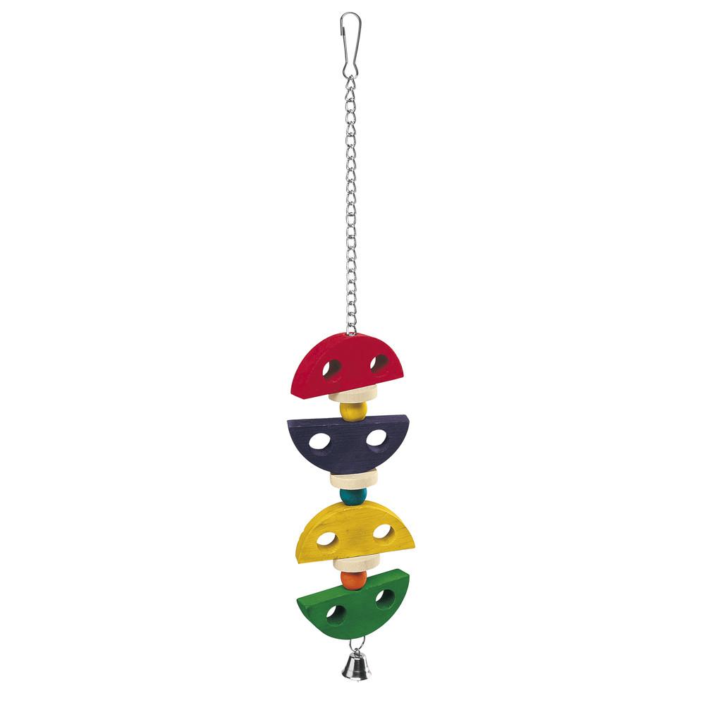 Brinquedo de Madeira para Pássaros Médio PA 4095