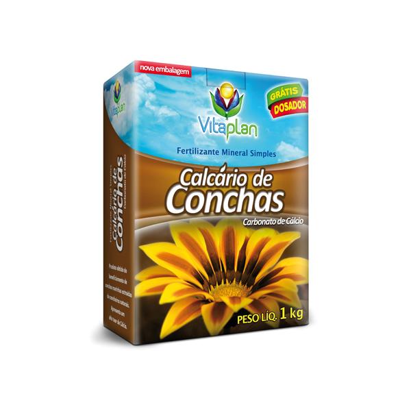 Calcário Concha 1kg