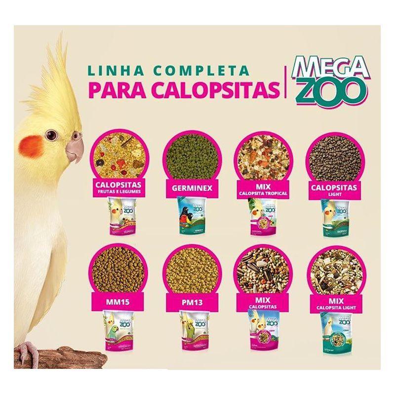 Calopsita Megazoo 350g