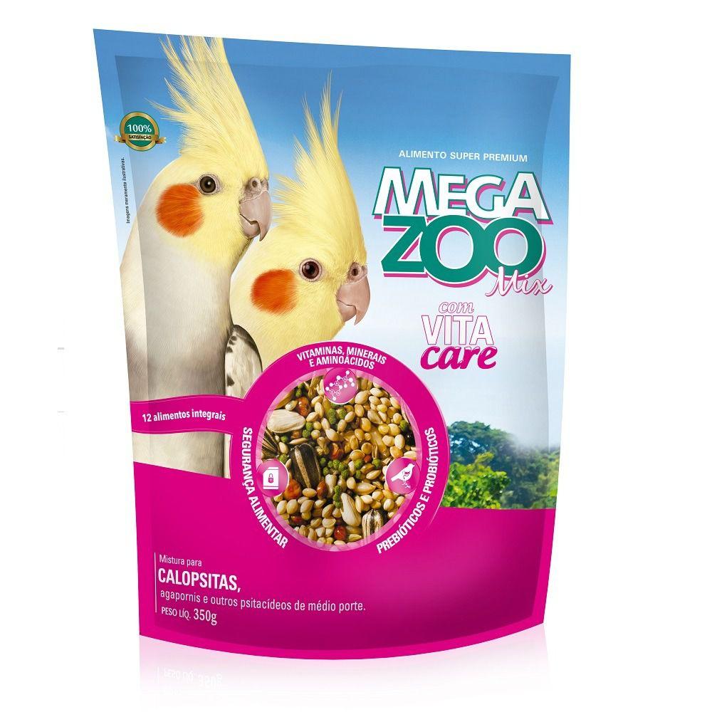 Calopsita Mix com Vita Care Megazoo 350g