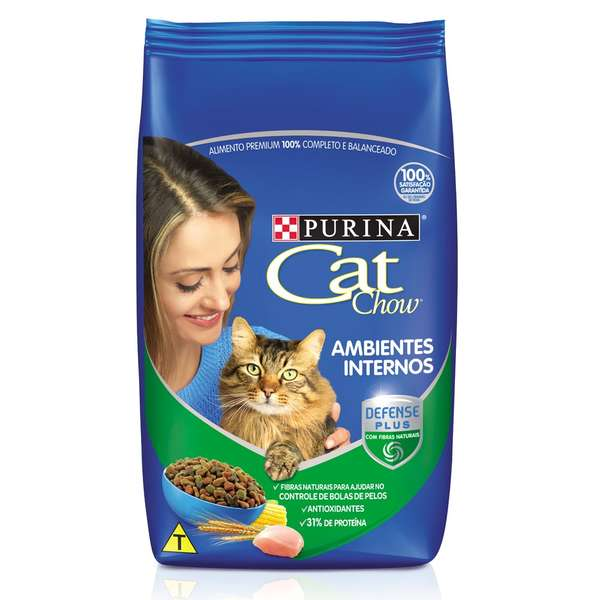 Cat Chow Ambientes Internos Aves