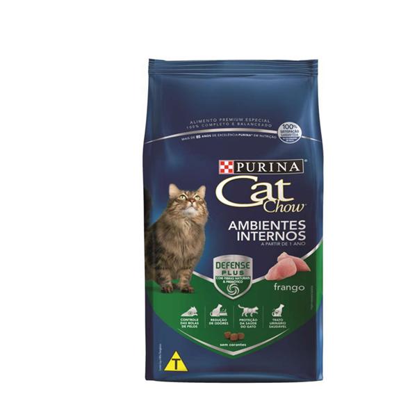Cat Chow Ambientes Internos Frango