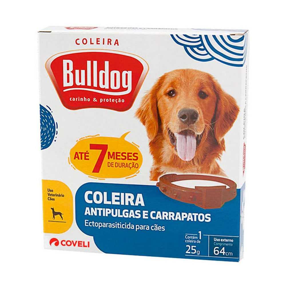 Coleira Bulldog 64cm 25g