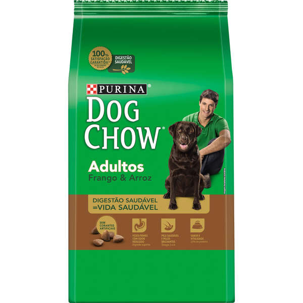 Dog Chow Adultos Frango e Arroz
