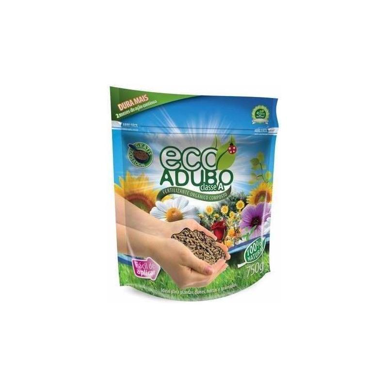 Ecoadubo Fertilizante Orgânico Granulado 750g