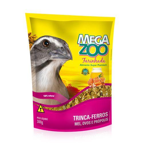 Farinhada Trinca- Ferro Megazoo 350g