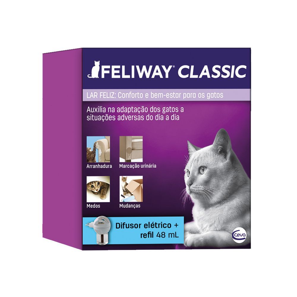 Feliway Classic Difusor + 1 Refil Ceva