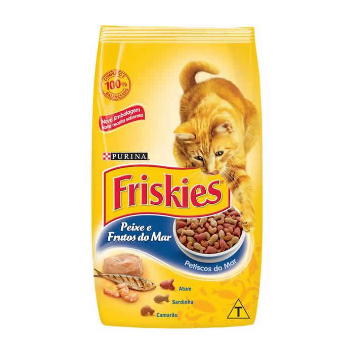 Friskies Peixe e Frutos do Mar