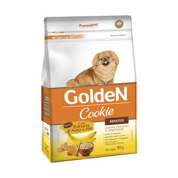 Golden Cookie Banana, Aveia e Mel para Cães Adultos