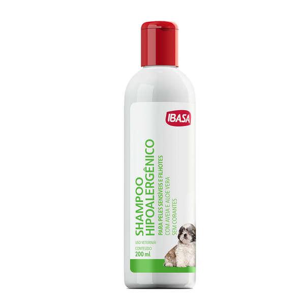 Ibasa Shampoo Hipoalergênico 200ml