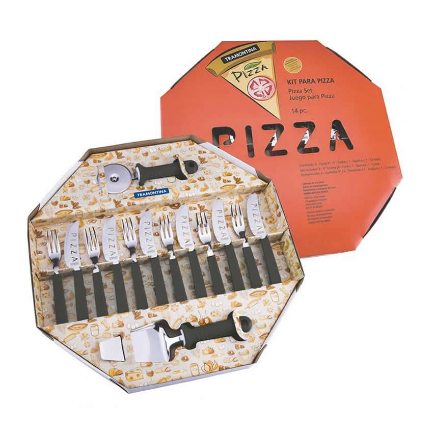 Kit Para Pizza 14 peças