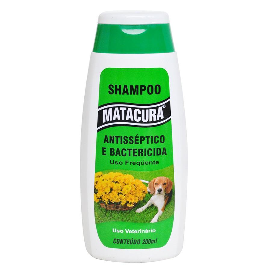 Matacura Shampoo Antisséptico e Bactericida 200ml