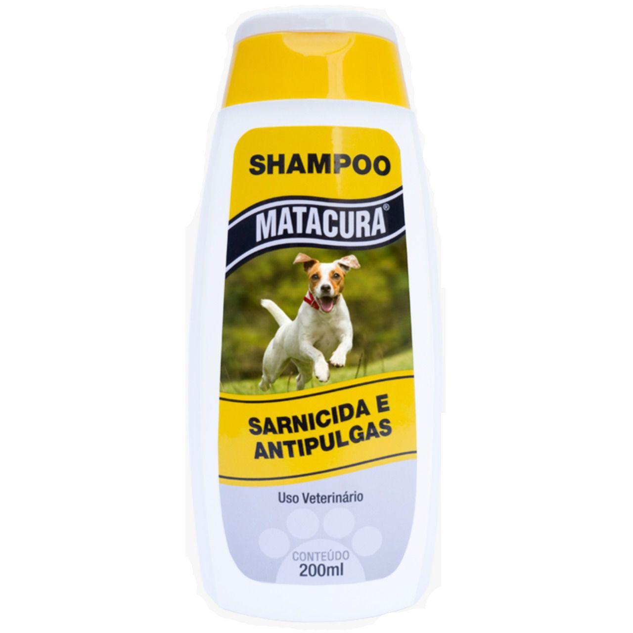 Matacura Shampoo Sarnicida e Anti-Pulgas 200ml