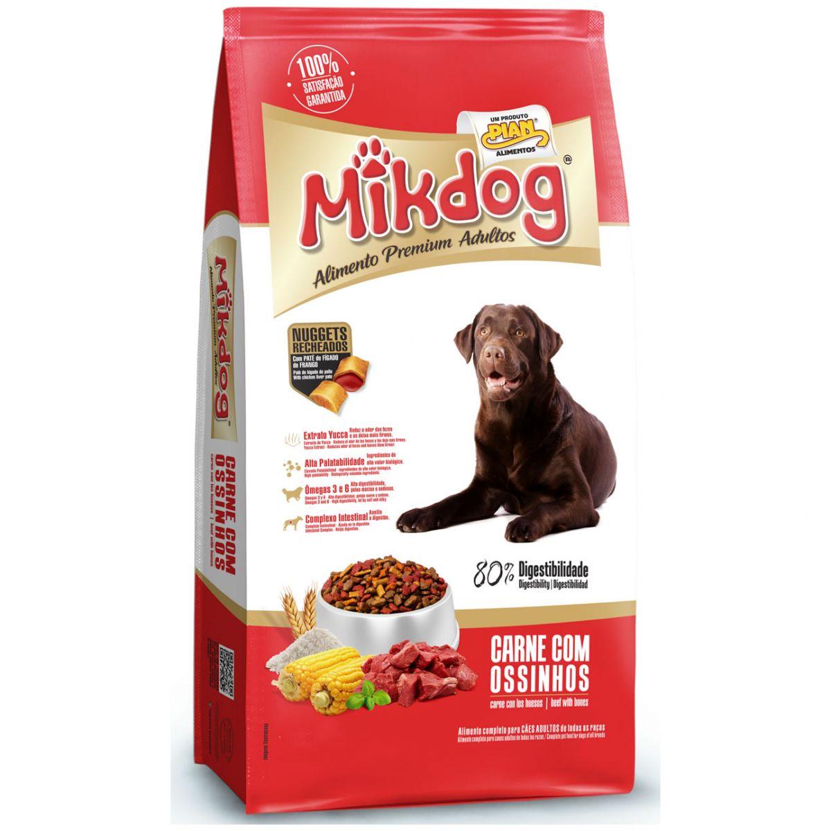 Mikdog Carne Ossinhos