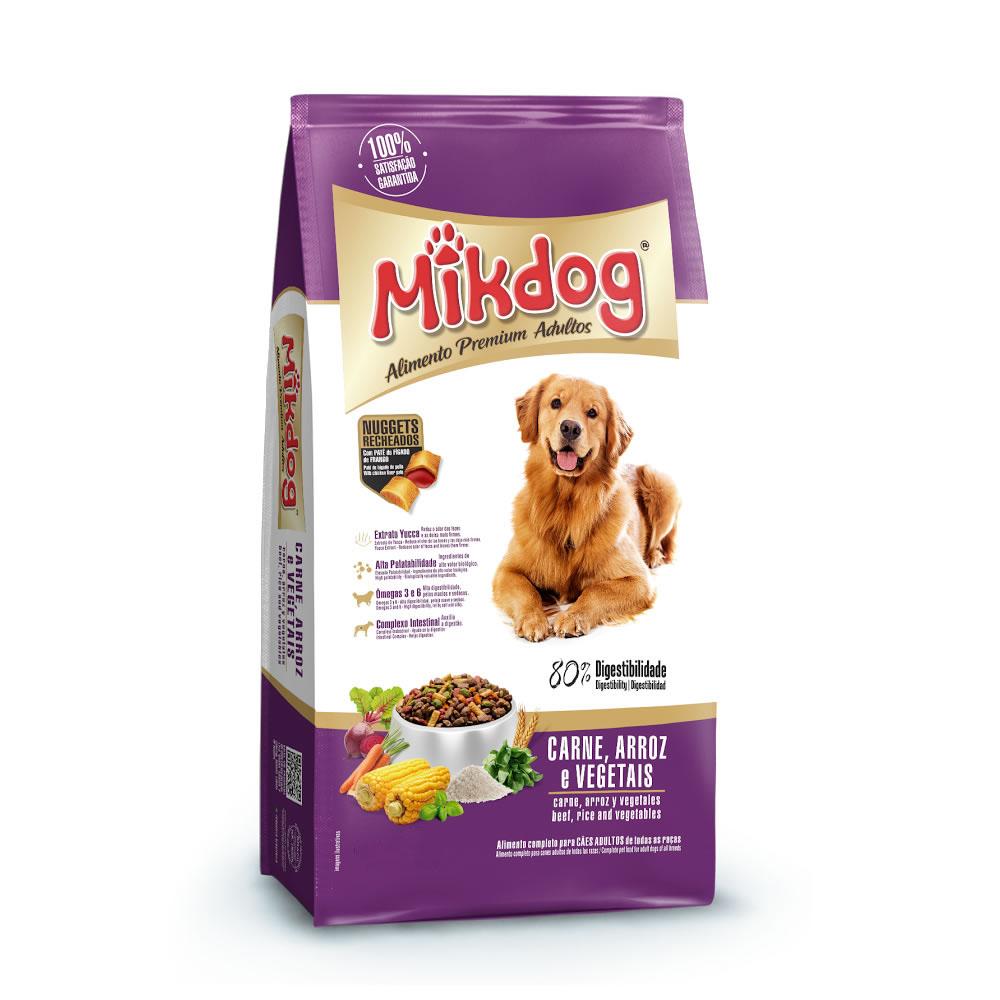 Mikdog Carne, Arroz e Vegetais