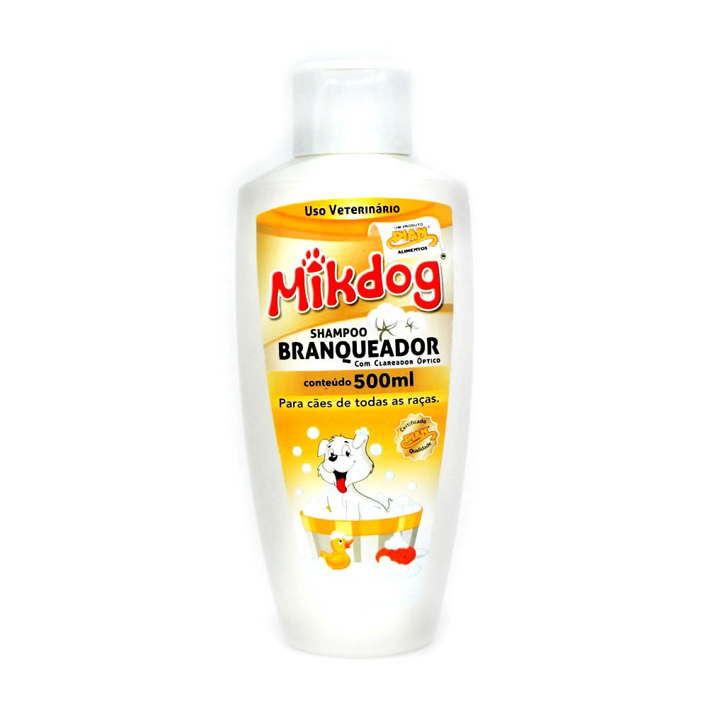 Mikdog Shampoo Branqueador 500ml