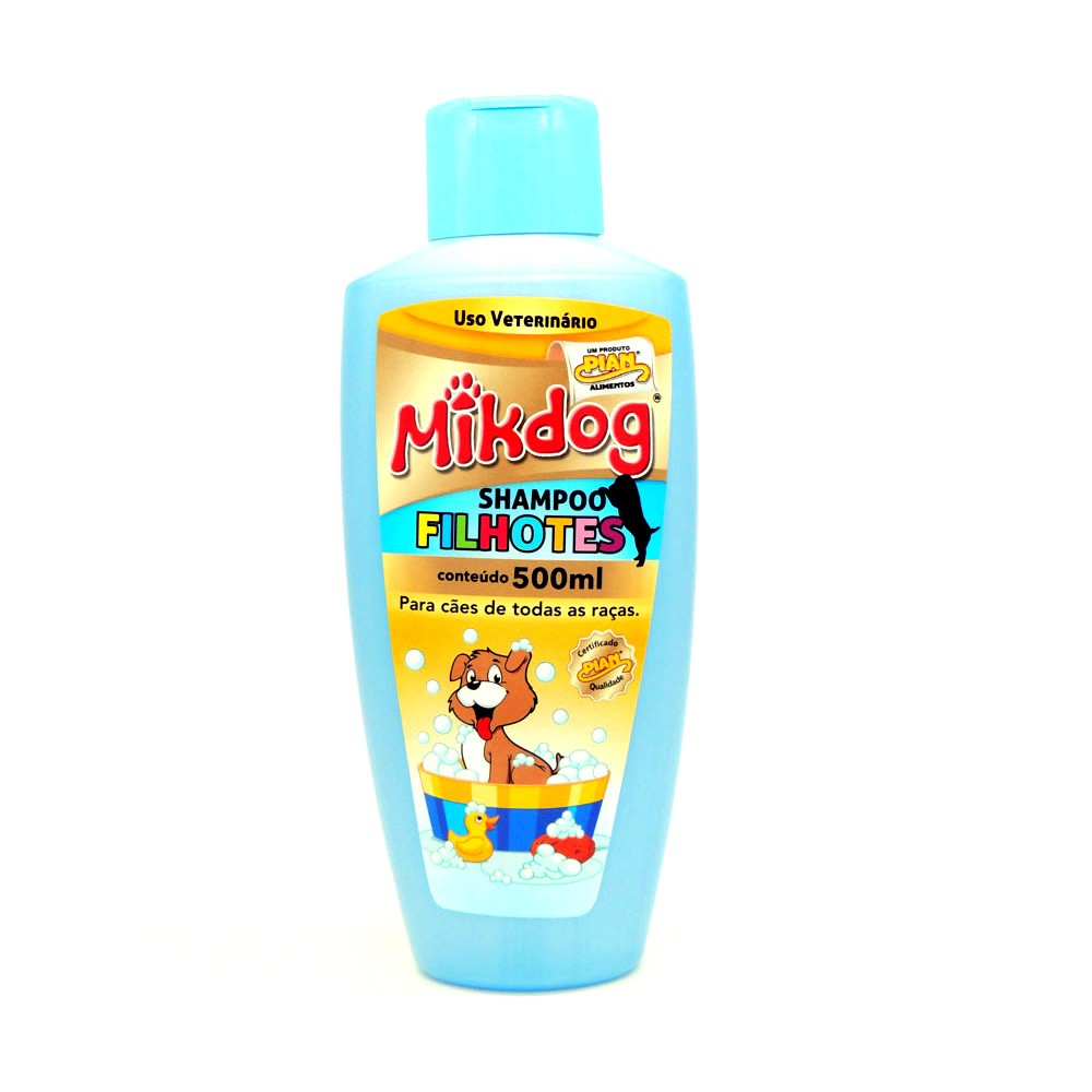 Mikdog Shampoo Filhote 500ml