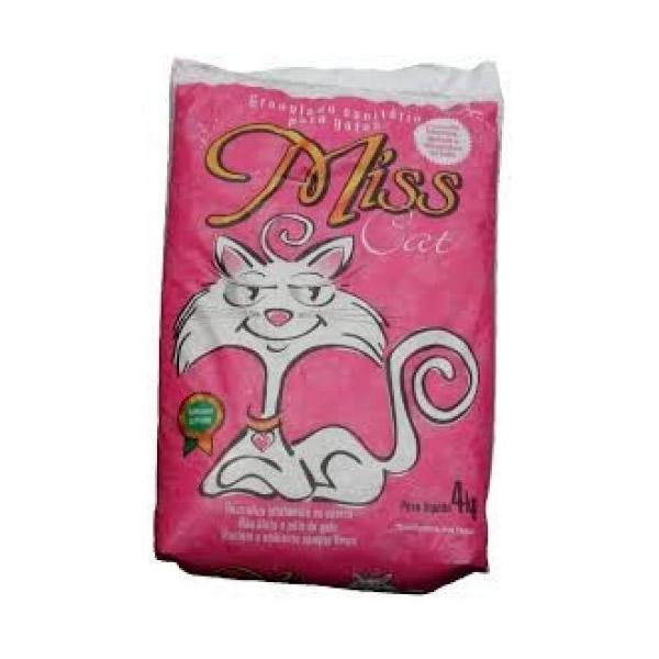 Miss Cat Granulado Higiênico 4kg