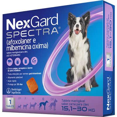 NexGard Spectra para Cães de 15,1 a 30 Kg