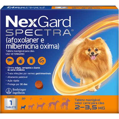 NexGard Spectra para Cães de 2 a 3,5 Kg