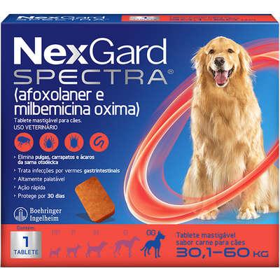 NexGard Spectra para Cães de 30,1 a 60Kg