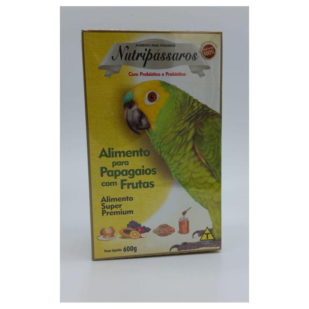 Nutripassáros Papagaio Mix de Frutas 600g